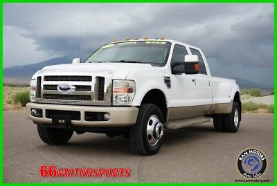 2008 Ford F-350 Lariat 2008 Ford F-350 King Ranch Power Stroke Diesel 4WD Crew Cab Dually Pickup Truck