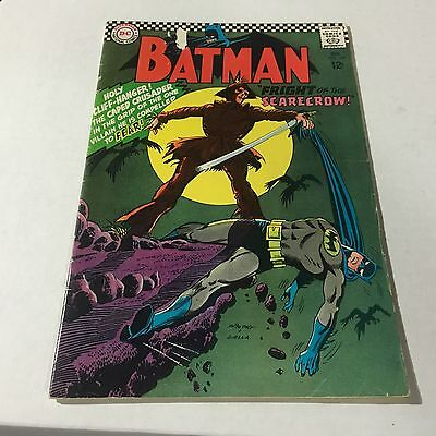 BATMAN #189 DC Silver Age Key Issue 1st SCARECROW Appearance  C