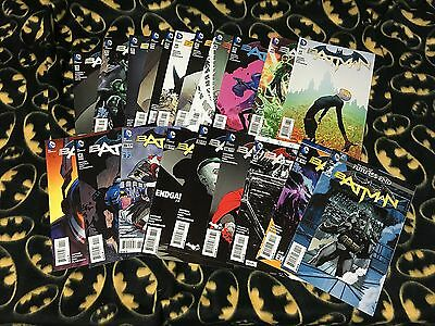 BATMAN #36-52 + Annual 3 4 & Future End 1 SNYDER Run Lot Set 1st Print Sold Out