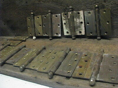 10 Architectural Victorian Antique/Vintage Cannonball Hinges ,Kinney,Stanley