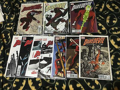 DAREDEVIL 1 2 3 4 5 6 7 8 9 10 MArvel WAID 2011 Complete Run Lot Set 1st Print