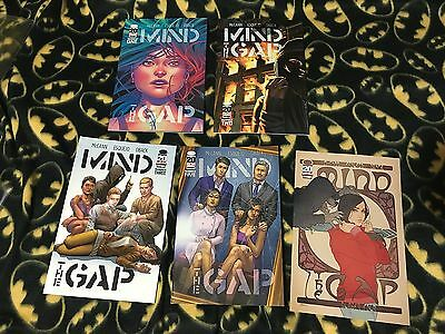 MIND THE GAP #1 2 3 4 5 Cover B Complete Run Lot Set 1st Print Sold Out Image