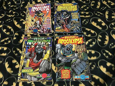 RISE OF APOCALYPSE #1 2 3 4 Marvel Complete Run Lot Set 1st Print Sold Out