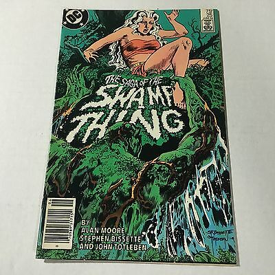 SAGA OF THE SWAMP THING #25 DC Copper Age comic 1st Appearance CONSTANTINE #R