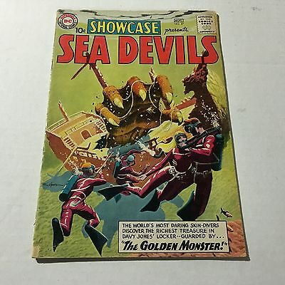 SHOWCASE #27 DC Comics Silver Age Key Issue Fine F 1st SEA DEVILS Appearance