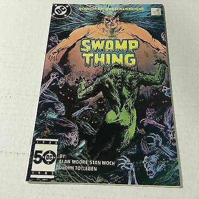 SWAMP THING #38 DC Copper Age Key Issue 2nd John Constantine Appearance 1985 c