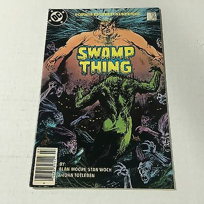 SWAMP THING #38 DC Copper Age Key Issue 2nd John Constantine Appearance 1985 e