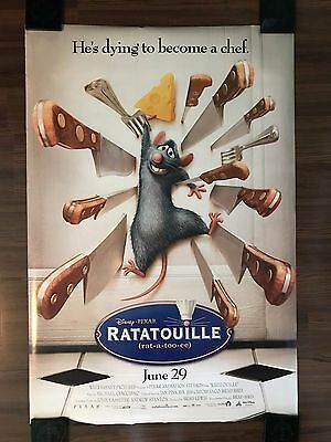 RATATOUILLE (2007) 27x40 Original Double Sided DS Movie Poster