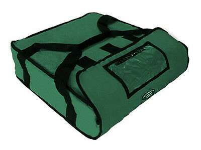 """Pizza Delivery Hot Bag (Holds up to Two 16"""" or Two 18"""" Pizzas) GREEN"""