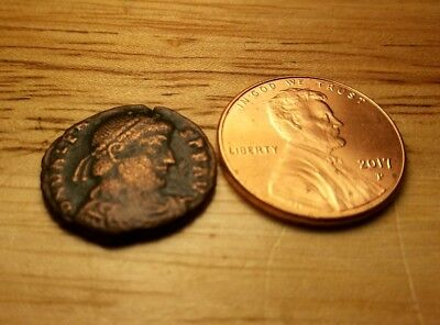 Ancient Roman Coin Good Condition For Age No Reserve  #11