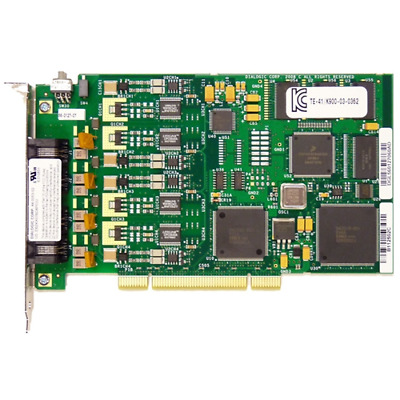 Dialogic D4PCIUFW PCI 4-port Analog Voice/Fax board