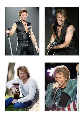 4 - Bon Jovi / Jon Bon Jovi 5 x 7 / 5x7 GLOSSY Photo Pictures