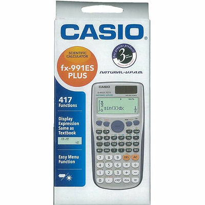 Casio FX-991 ES Plus Scientific Calculator  FX991ES +   417 Functions USA SELLER