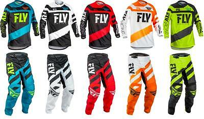 2018 Fly Racing F-16 Jersey Pant Gear Combo Motocross Dirt Bike ATV Off Road F16