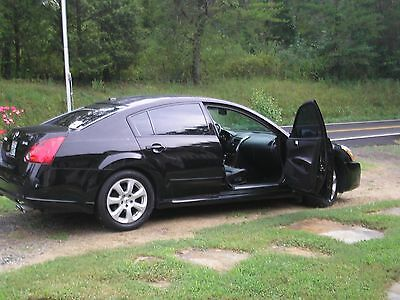 2008 Nissan Maxima SL wood Grain 2008 Nissan Maxima 3.5 SL Black W/Black Leather