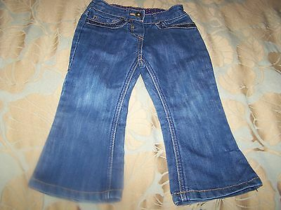 Ted Baker Denim Jeans With Sequins To Fit Baby Girl 18-24 Months