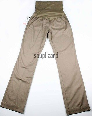 New Women's Maternity Khaki Pants Liz Lange NWT  Sz Size XS S M L XL Casual Tan