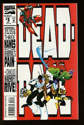 DEADPOOL #3 NEAR MINT 1993 CIRCLE CHASE bin-2017-0550