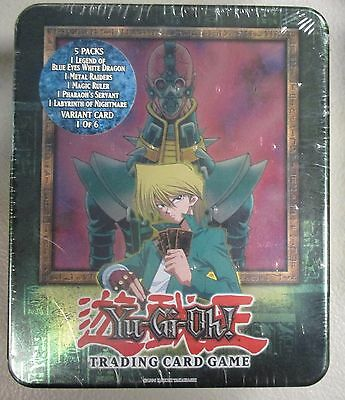 YuGiOh! 2003 Collectible Tin Joey Jinzo Factory Sealed Rare Near Mint Konami