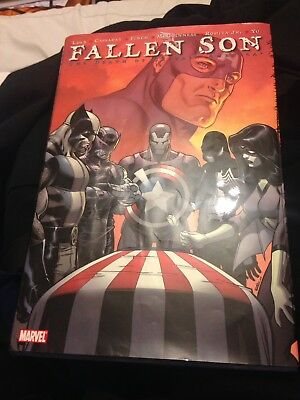 Fallen Son The Death Of Captain America Hardback