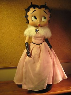 Very Rare Beautiful BETTY BOOP Limited Edition BELLE OF THE BALL Porcelain Doll
