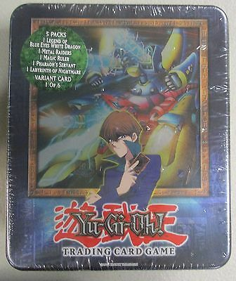 YuGiOh! 2003 Collectible Tin Kaiba XYZ Dragon Cannon Near Mint Sealed Konami