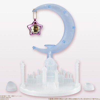 Sailor Moon Miniaturely Tablet Castle Accessory Stand + Pink Star Locket IN BOX