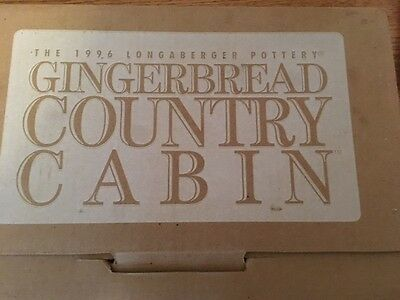Longaberger Gingerbread Country Cabin
