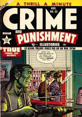 Crime and Punishment #53 in Very Fine - condition. FREE bag/board