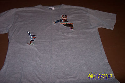 WARNER BROTHERS Road Runner & Wile E Coyote T-Shirt L