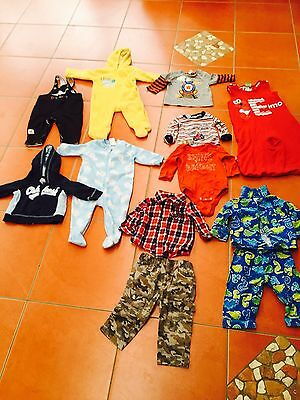 Size 0 Baby Boys Winter Clothes Baby Gap, Pumpkin Patch, Osh Kosh, Sesame Street