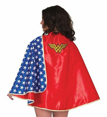 Deluxe Wonder Woman Wonderwoman Adult Cape Costume Accessory NEW