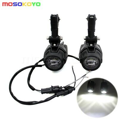 Spot LED Auxiliary Fog Light Driving Lamp New For BMW R1200GS F800GS Versys KTM