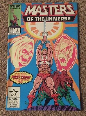 Masters of the Universe #1 Marvel Star Comics 1986 Warehouse Find VF/NM
