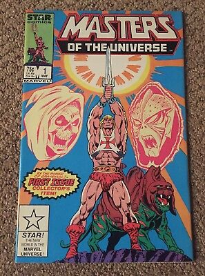 Masters of the Universe #1 Marvel Star Comics 1986 Warehouse Find VF+