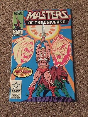 Masters of the Universe #1 Marvel Star Comics 1986 Warehouse Find VF-