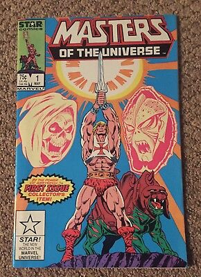 Masters of the Universe #1 Marvel Star Comics 1986 Warehouse Find VF