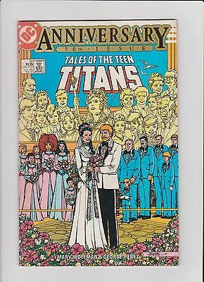 Tales Of The Teen Titans #50 (1985) - Wedding Of Donna Troy