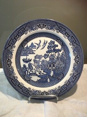 Churchill Willow Pattern Plate