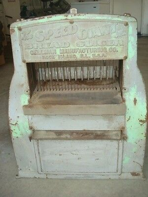 Gellman antique electric bread slicer Speed Giant Jr.