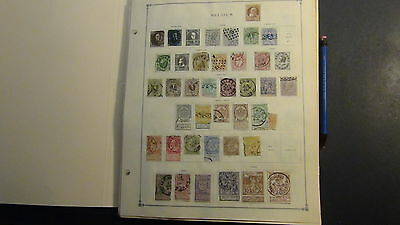 Belgium stamp collection on Scott Int'l pages to '75