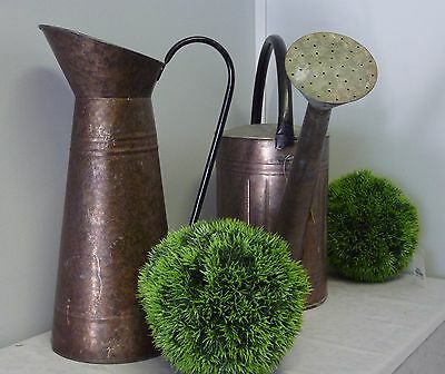 New Metal Garden Watering Can or Metal Jug to water your Potted Plants