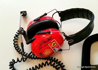 Michael Schumacher Personally Worn Headset Radio From Circa 2001 Championship