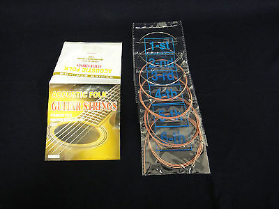 High Quality Acoustic guitar strings. Light. A2A 0.012~0.053 Inch