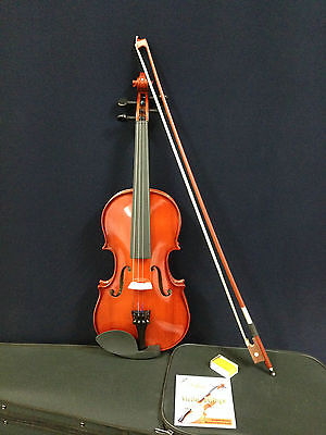 Brand New Caraya 4/4 size Violin w/Bow,Rosin,Extra String Set,Foam Hard Case