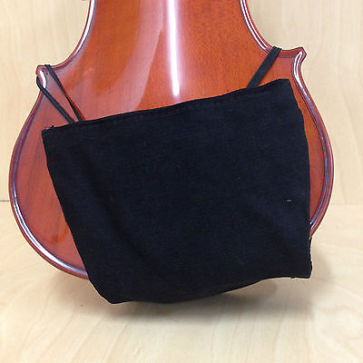 Economy Model Violin Shoulder Rest & Chin Comforter for 3/4,4/4 Violin Black