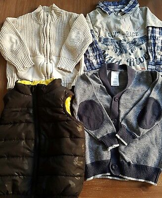 Boys size 1 jumpers and pumpkin patch top
