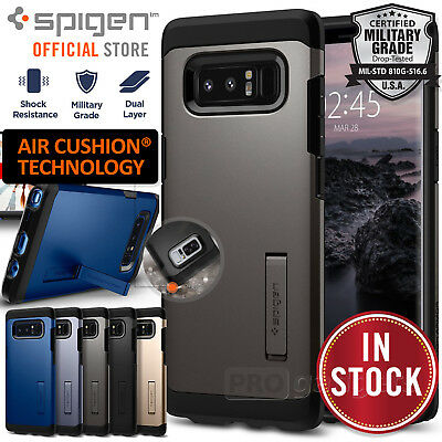 For Samsung Galaxy Note 8 Genuine SPIGEN Tough Armor Hard Heavy Duty Case Cover