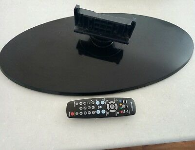 """Television Samsung plasma 50"""" - remote control and TV stand"""