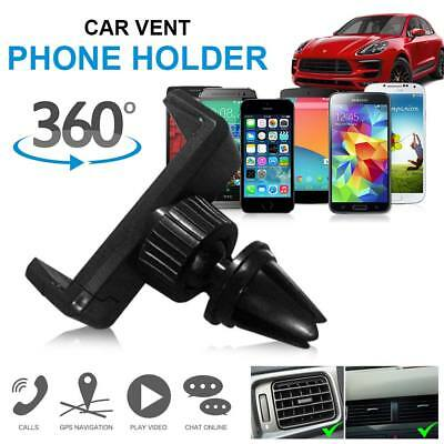 360 Rotating In Car Air Vent Mount Holder Cradle Stand Universal Mobile Phone UK